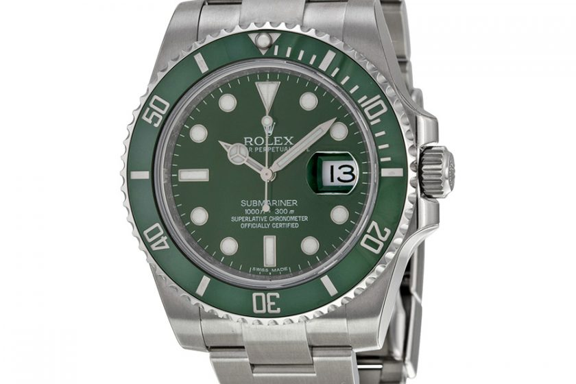 replica ROLEX Submariner Green Dial Steel Men's Watch