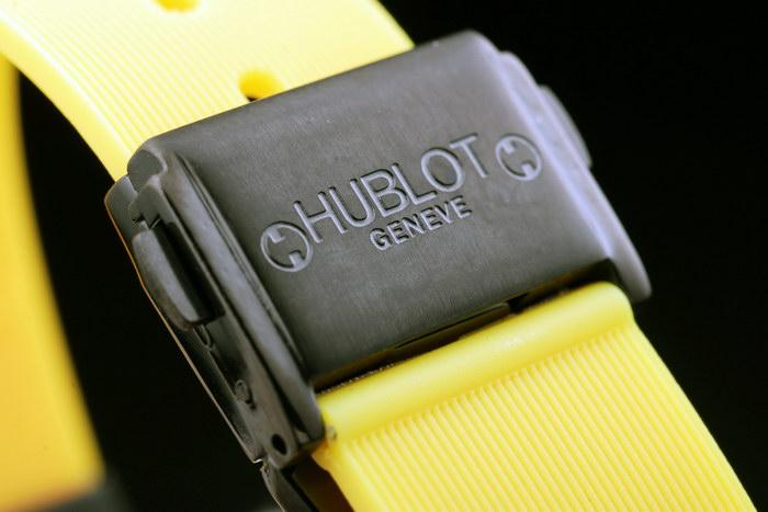A peek of new replica Hublot classical fusion Berluti